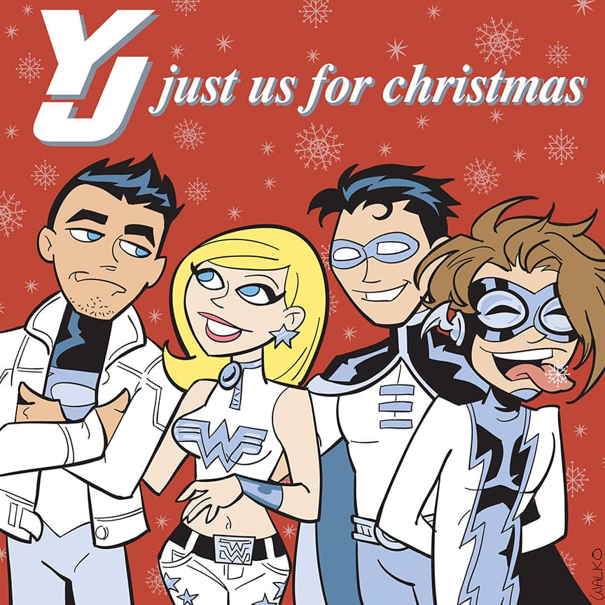 XmasAlbum_YoungJustice_TLID_walko